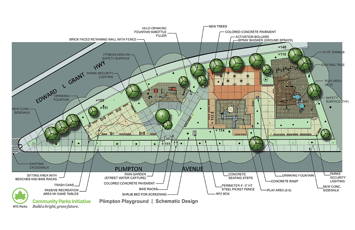 Design of Plimpton Playground Reconstruction