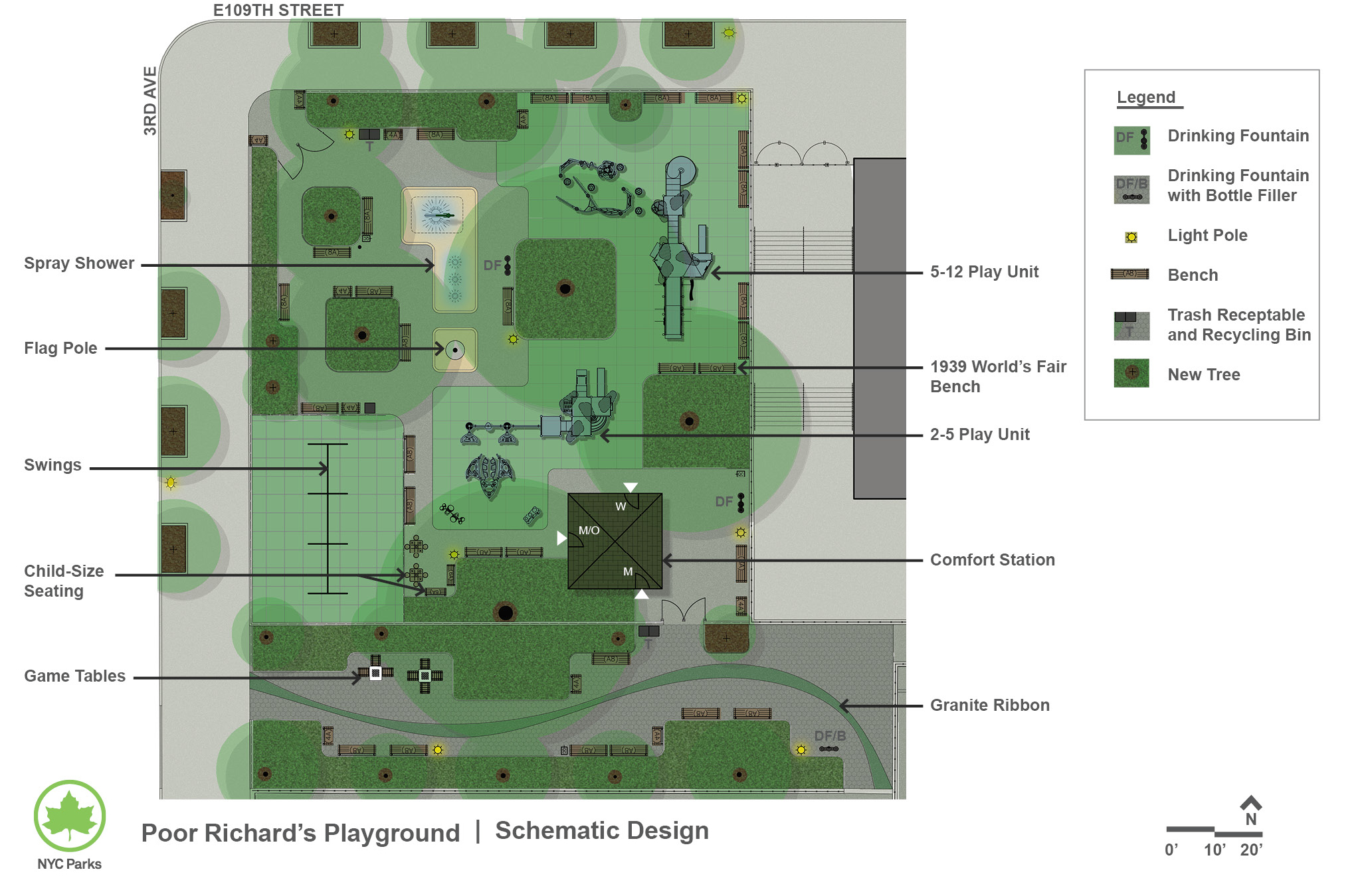 Design of Poor Richard's Playground Play Area Reconstruction
