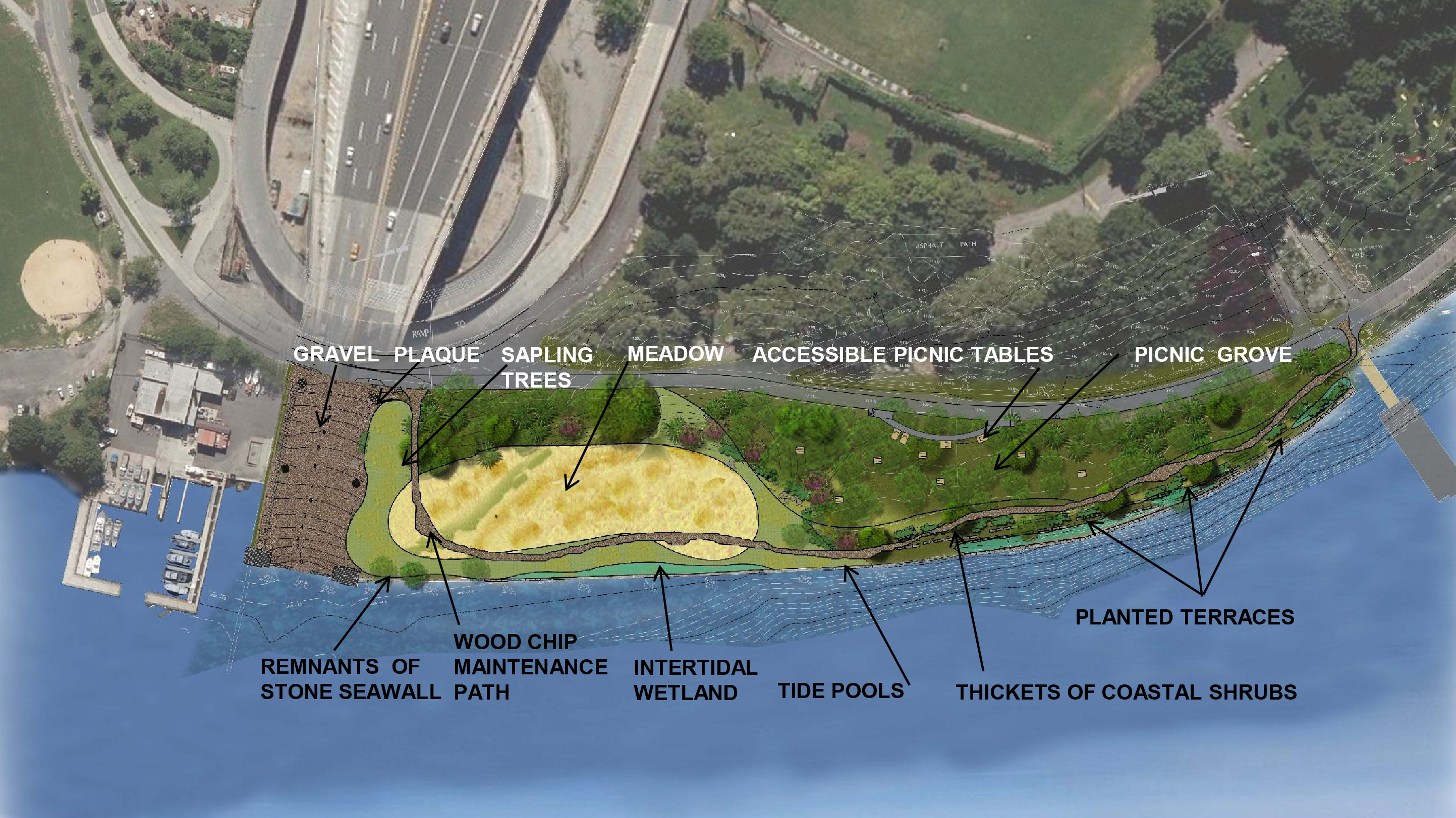 Design of Randall's Island Western Shore Reconstruction