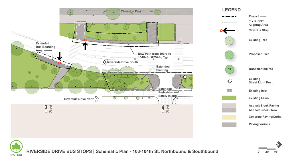 Design of Riverside Drive Bus Stop and Safety Measure Installation