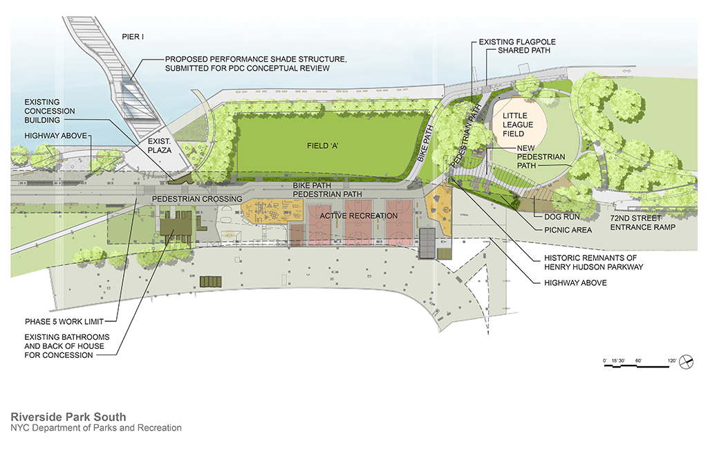 Design of Riverside Park South Natural Turf Ballfield & Greenway Reconstruction