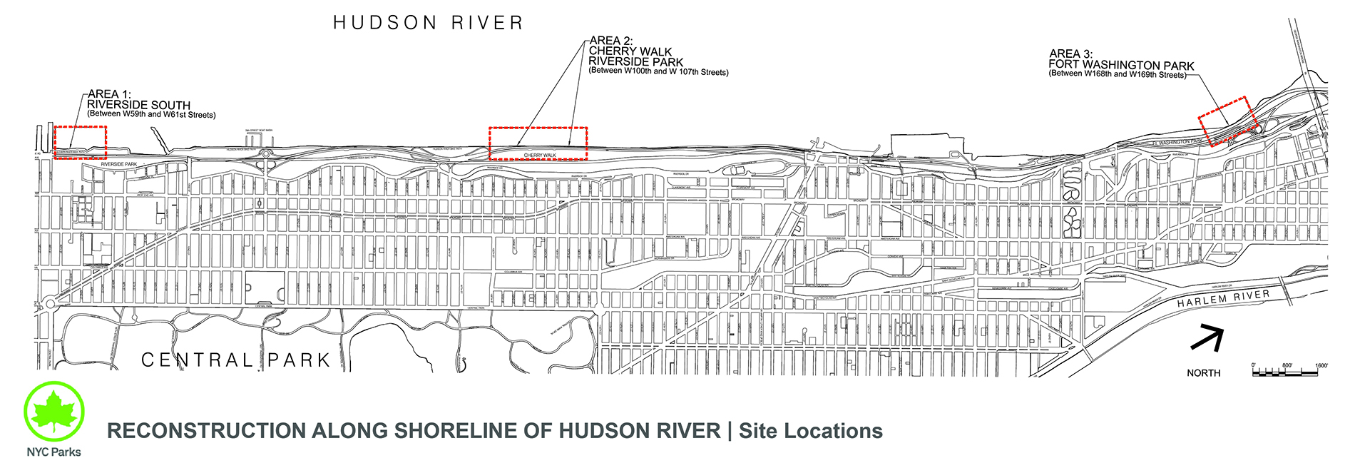 Design of Riverside Park and Fort Washington Park Pathway Reconstruction (Hurricane Sandy)