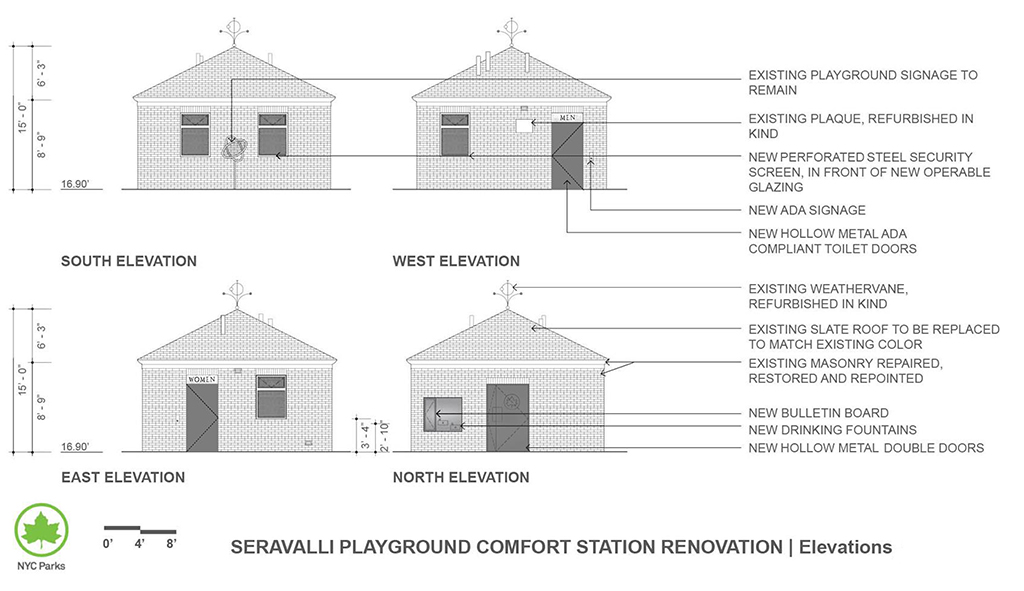 Design of Seravalli Playground Comfort Station Reconstruction