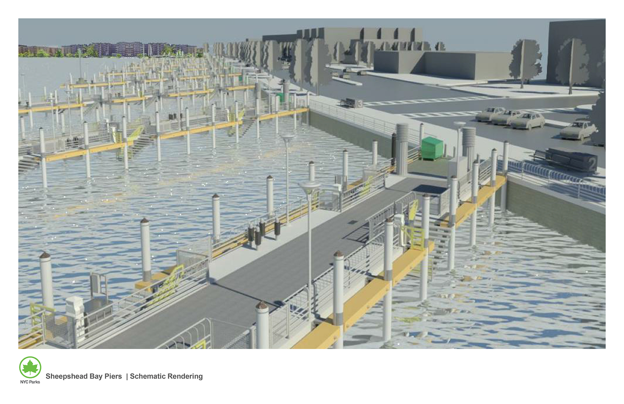 Design of Sheepshead Bay Piers Electrical & Structural Components Reconstruction (Hurricane Sandy)
