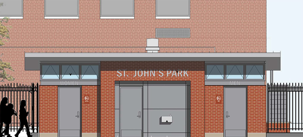 Design of St. John's Recreation Center Comfort Station Construction