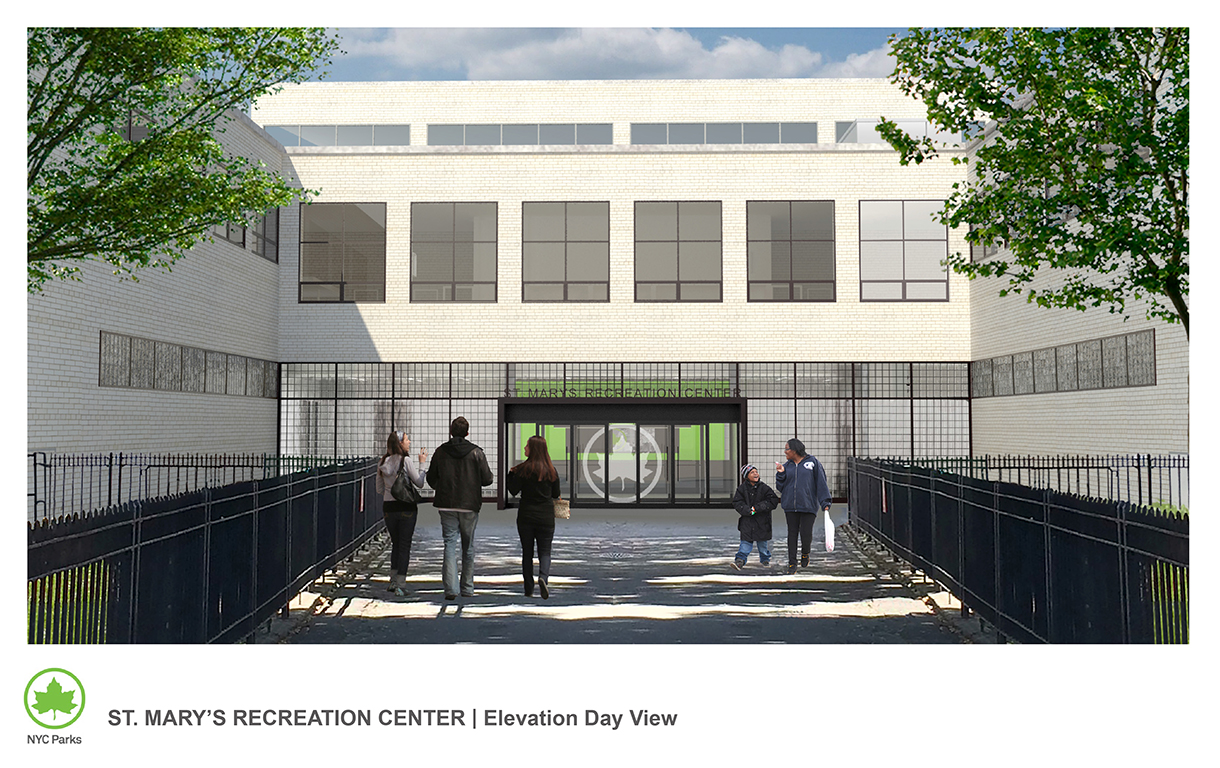 Design of St. Mary's Park Recreation Center Reconstruction