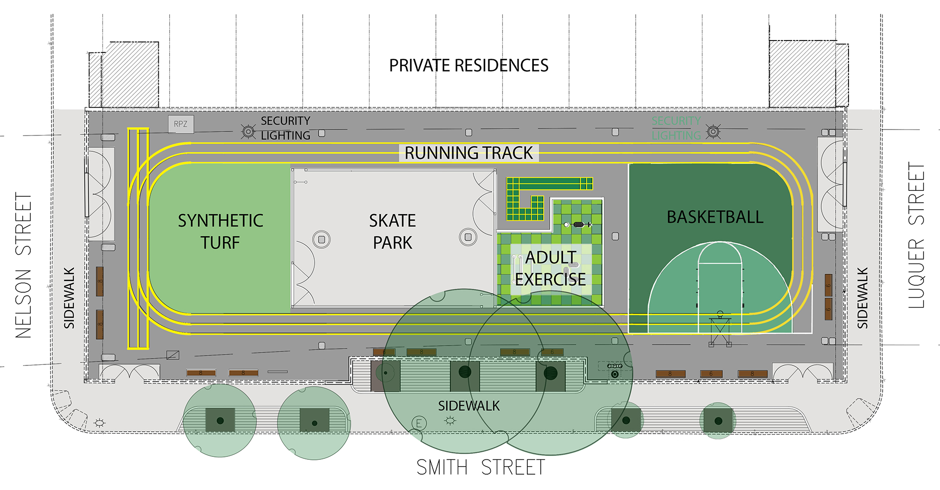Design of St. Mary's Playground Multi-Purpose Area Reconstruction