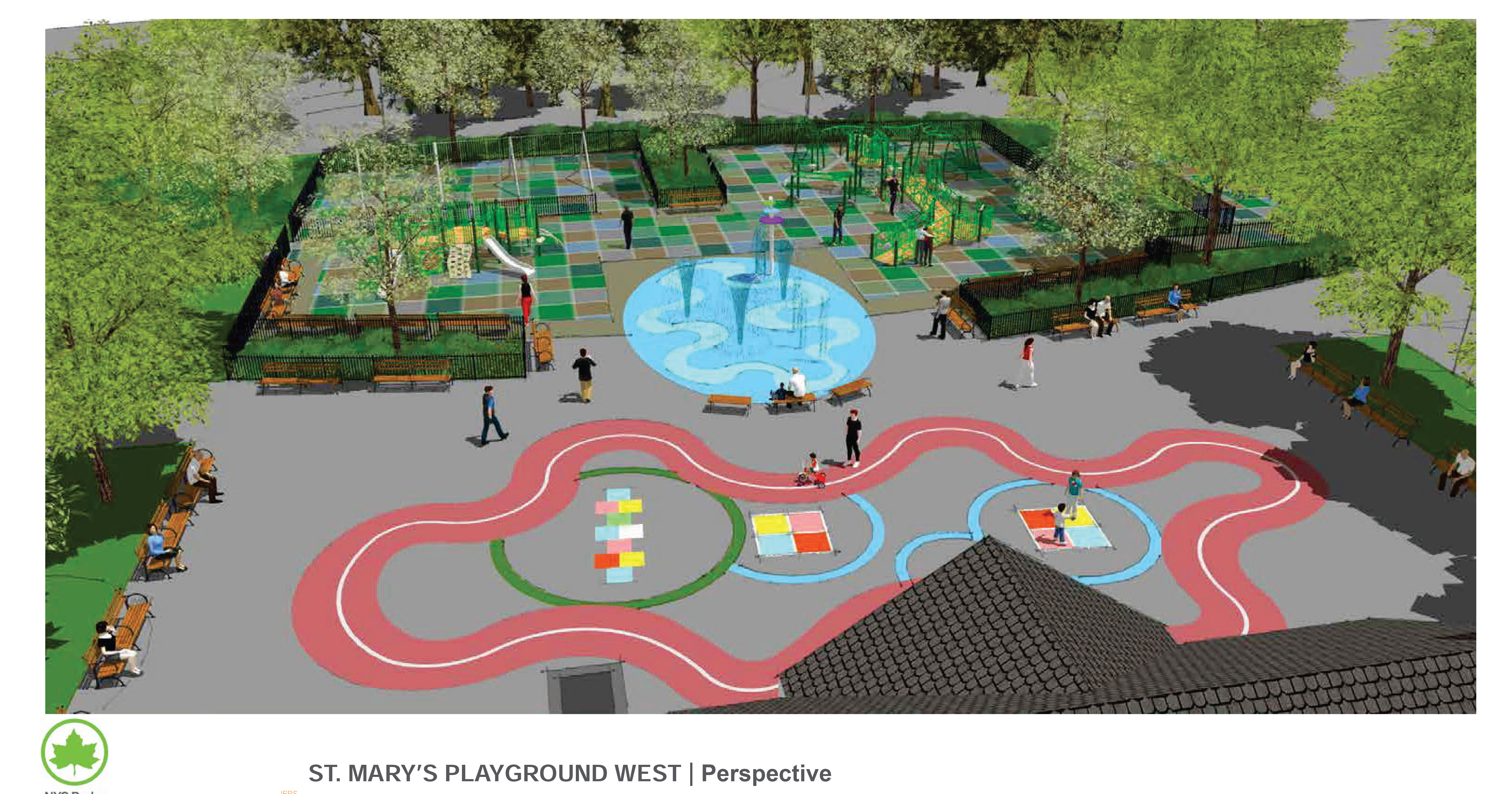 Design of St. Mary's Park Playground West Reconstruction