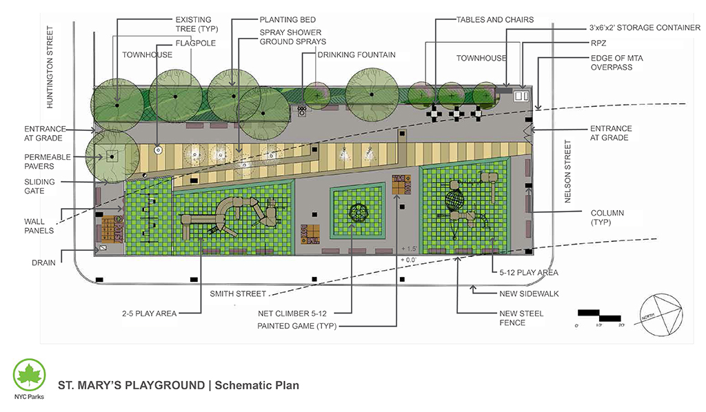 Design of St. Mary's Playground Reconstruction