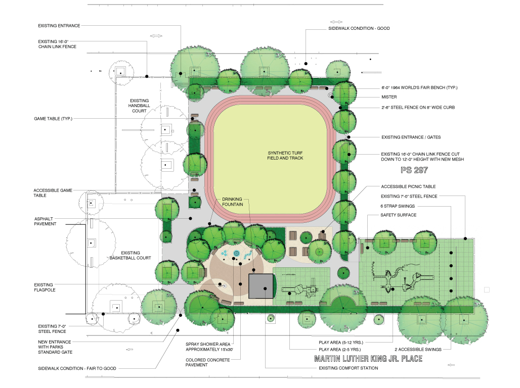 Design of Stockton Playground Reconstruction