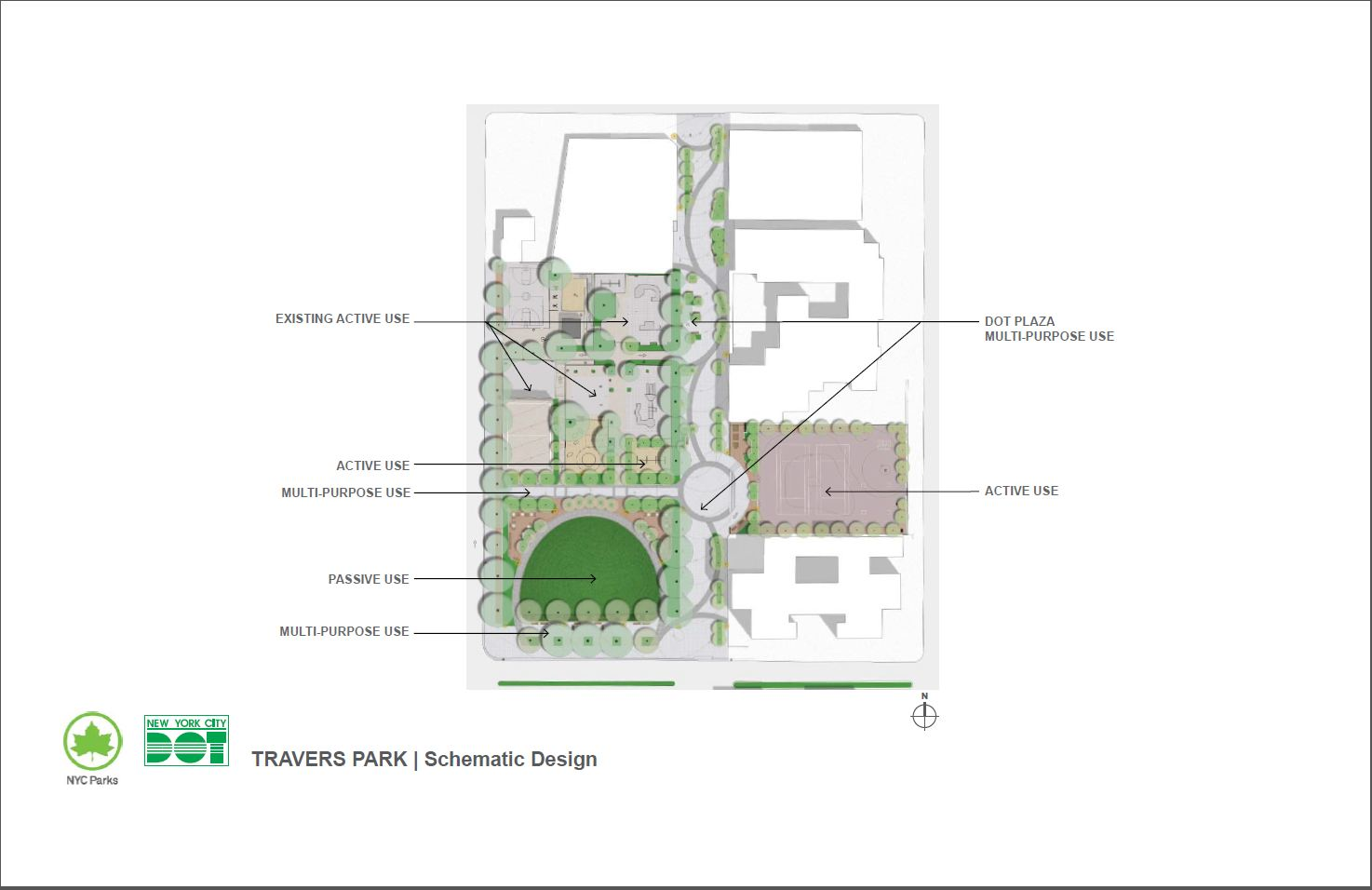 Design of Travers Park and Staunton Field Play Field Reconstruction