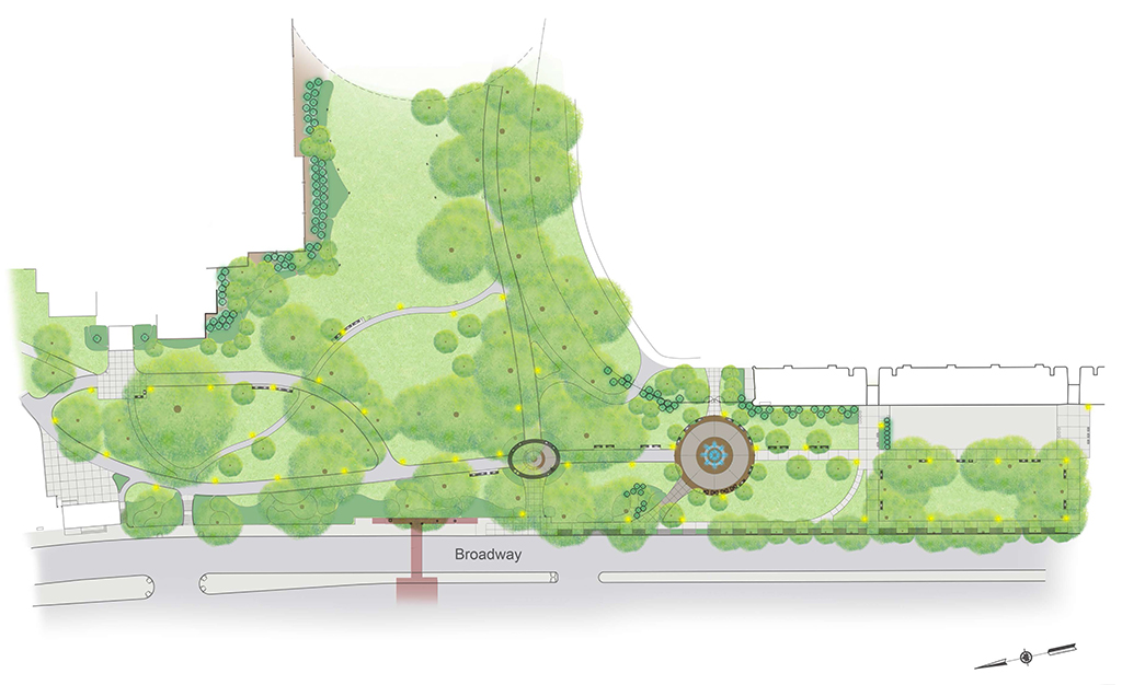 Design of Van Cortlandt Park Broadway Entrance Reconstruction