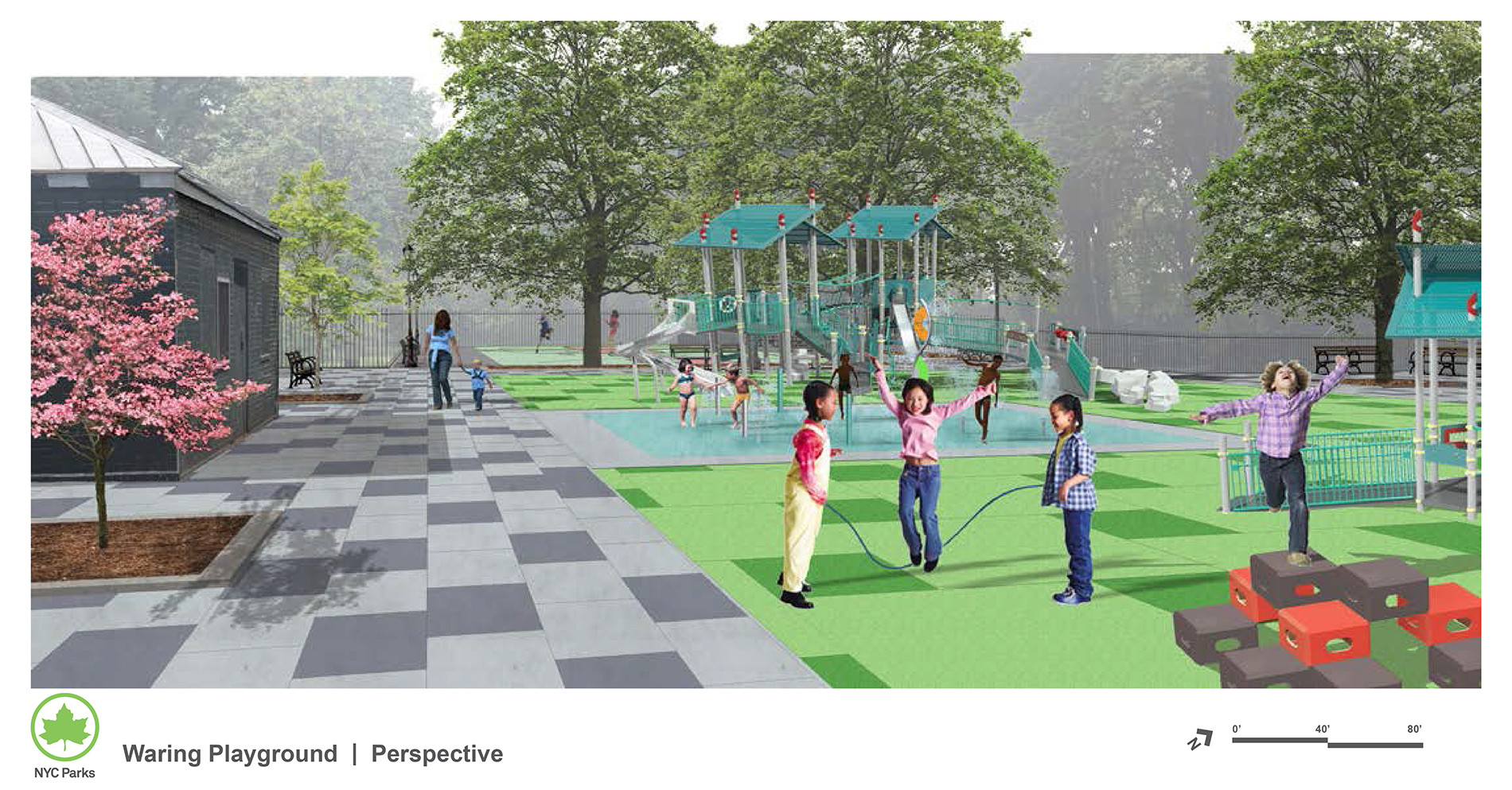 Design of Waring Playground Reconstruction
