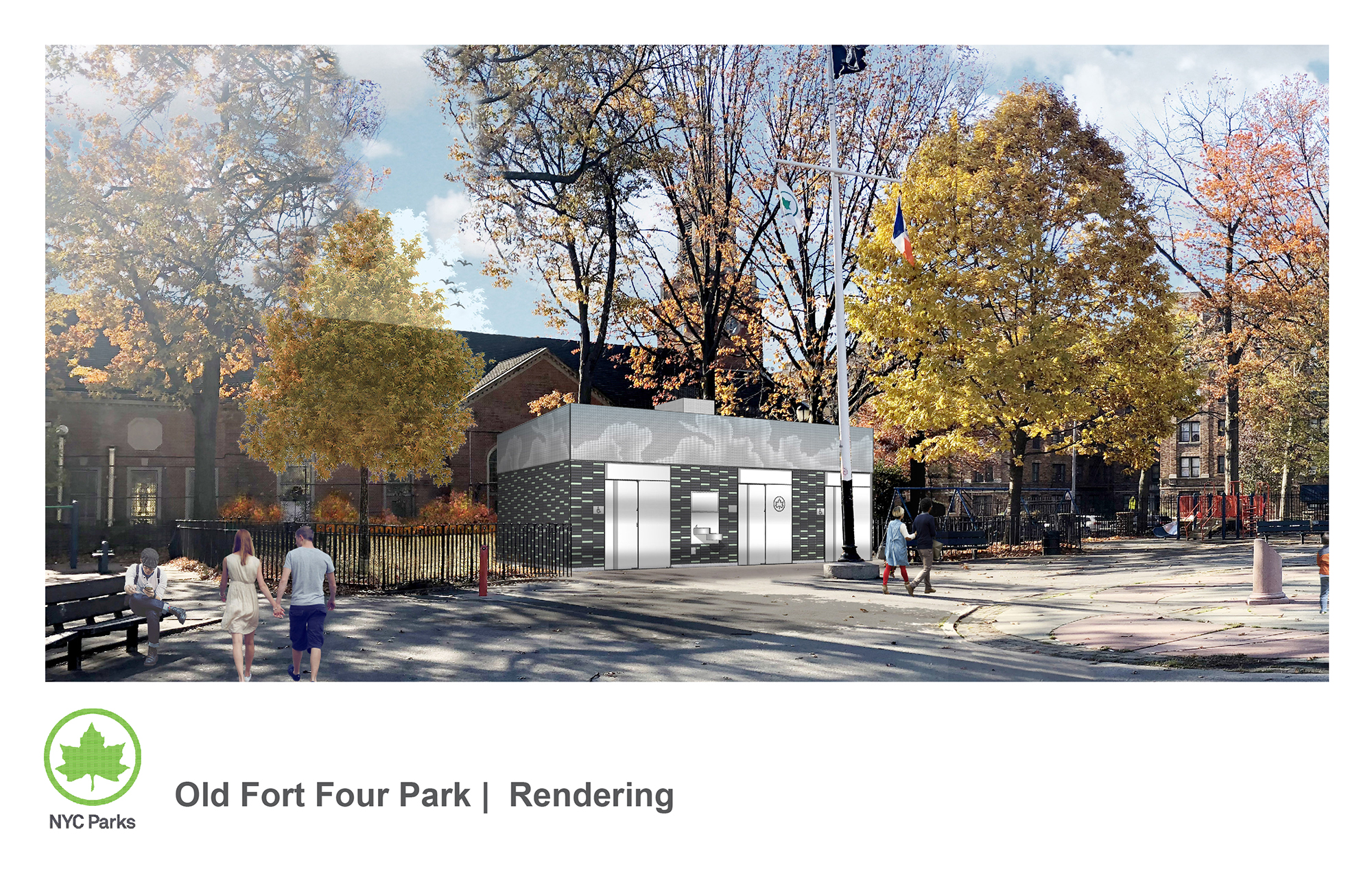 Design of Washington's Walk Fort Four Playground Comfort Station Construction