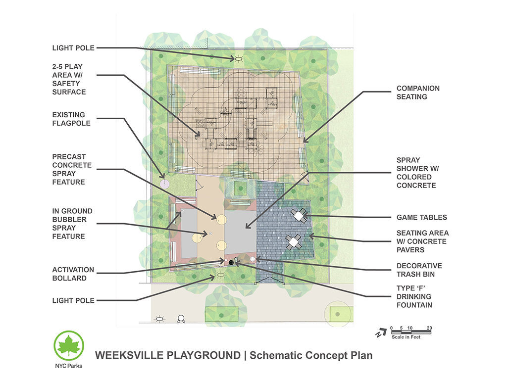 Design of Weeksville Playground Reconstruction