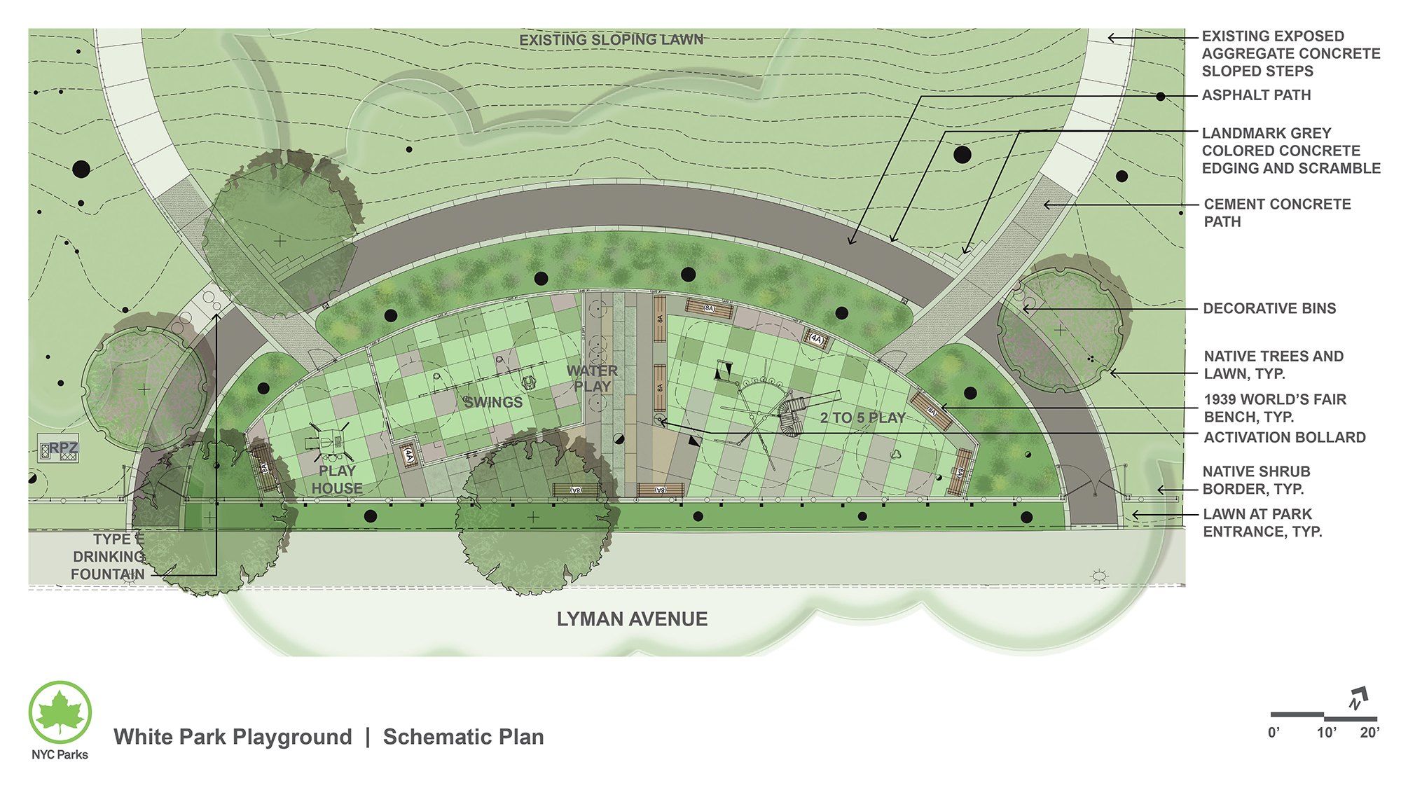 Design of White Park Playground Reconstruction