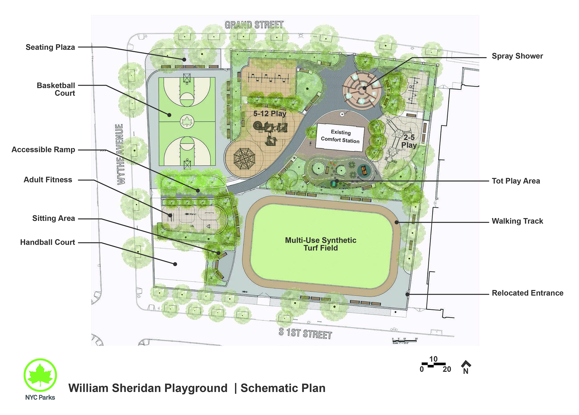 Design of William Sheridan Playground Reconstruction